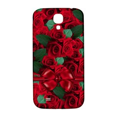Floral Flower Pattern Art Roses Samsung Galaxy S4 I9500/i9505  Hardshell Back Case