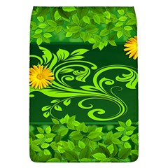 Background Texture Green Leaves Flap Covers (l)