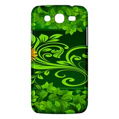 Background Texture Green Leaves Samsung Galaxy Mega 5 8 I9152 Hardshell Case  by Sapixe