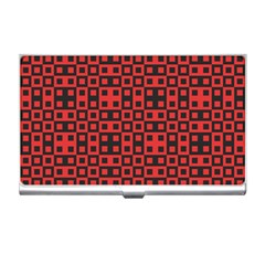 Abstract Background Red Black Business Card Holders