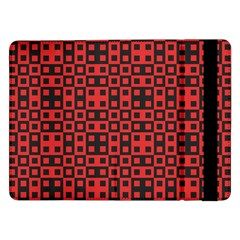 Abstract Background Red Black Samsung Galaxy Tab Pro 12 2  Flip Case by Sapixe