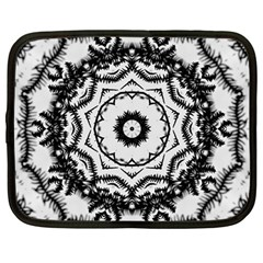 Abstract Pattern Fractal Netbook Case (large)
