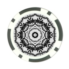 Abstract Pattern Fractal Poker Chip Card Guard (10 Pack)