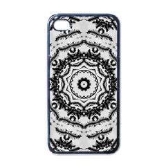 Abstract Pattern Fractal Apple Iphone 4 Case (black)