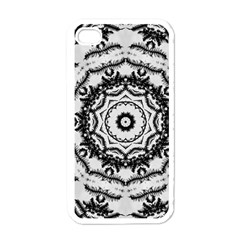 Abstract Pattern Fractal Apple Iphone 4 Case (white)