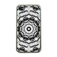 Abstract Pattern Fractal Apple Iphone 4 Case (clear)