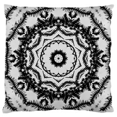 Abstract Pattern Fractal Large Cushion Case (one Side)