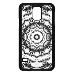 Abstract Pattern Fractal Samsung Galaxy S5 Case (black)