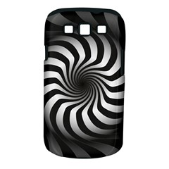Art Optical Black White Hypnotic Samsung Galaxy S Iii Classic Hardshell Case (pc+silicone)
