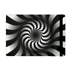 Art Optical Black White Hypnotic Ipad Mini 2 Flip Cases