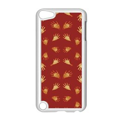 Primitive Art Hands Motif Pattern Apple Ipod Touch 5 Case (white)