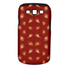 Primitive Art Hands Motif Pattern Samsung Galaxy S Iii Classic Hardshell Case (pc+silicone)