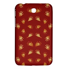 Primitive Art Hands Motif Pattern Samsung Galaxy Tab 3 (7 ) P3200 Hardshell Case