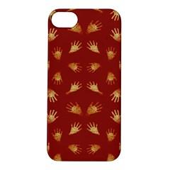 Primitive Art Hands Motif Pattern Apple Iphone 5s/ Se Hardshell Case