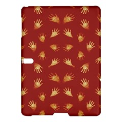 Primitive Art Hands Motif Pattern Samsung Galaxy Tab S (10 5 ) Hardshell Case