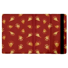 Primitive Art Hands Motif Pattern Apple Ipad Pro 12 9   Flip Case