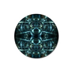 Abstract Fractal Magical Magnet 3  (round)