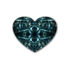 Abstract Fractal Magical Heart Coaster (4 Pack)