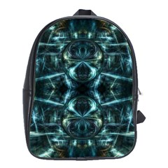 Abstract Fractal Magical School Bag (large)