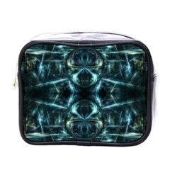Abstract Fractal Magical Mini Toiletries Bags