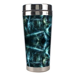 Abstract Fractal Magical Stainless Steel Travel Tumblers