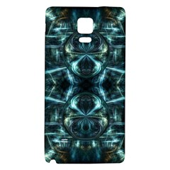 Abstract Fractal Magical Galaxy Note 4 Back Case by Sapixe