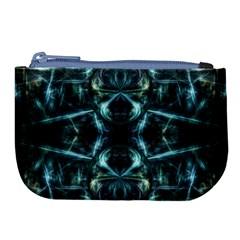 Abstract Fractal Magical Large Coin Purse