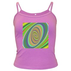 Ellipse Background Elliptical Dark Spaghetti Tank