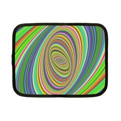 Ellipse Background Elliptical Netbook Case (small)