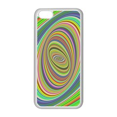 Ellipse Background Elliptical Apple Iphone 5c Seamless Case (white)
