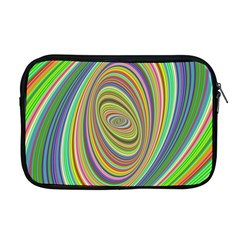 Ellipse Background Elliptical Apple Macbook Pro 17  Zipper Case