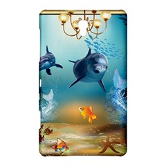 Dolphin Art Creation Natural Water Samsung Galaxy Tab S (8 4 ) Hardshell Case
