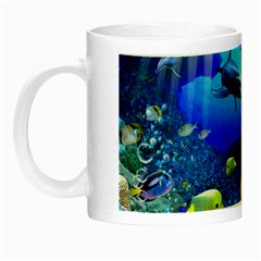 Dolphin Art Creation Natural Water Night Luminous Mugs
