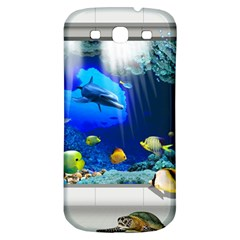Dolphin Art Creation Natural Water Samsung Galaxy S3 S Iii Classic Hardshell Back Case