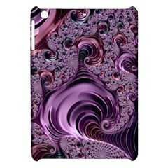 Purple Abstract Art Fractal Apple Ipad Mini Hardshell Case