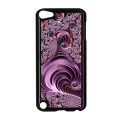 Purple Abstract Art Fractal Apple Ipod Touch 5 Case (black)