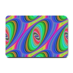 Ellipse Pattern Elliptical Fractal Small Doormat