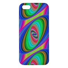 Ellipse Pattern Elliptical Fractal Apple Iphone 5 Premium Hardshell Case