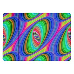 Ellipse Pattern Elliptical Fractal Samsung Galaxy Tab 10 1  P7500 Flip Case