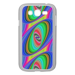 Ellipse Pattern Elliptical Fractal Samsung Galaxy Grand Duos I9082 Case (white)
