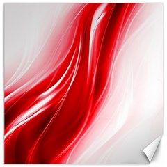 Flame Red Fractal Energy Fiery Canvas 12  X 12