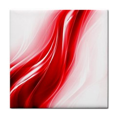 Flame Red Fractal Energy Fiery Face Towel