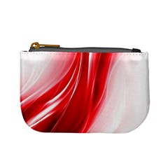 Flame Red Fractal Energy Fiery Mini Coin Purses