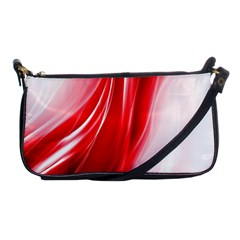 Flame Red Fractal Energy Fiery Shoulder Clutch Bags