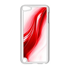 Flame Red Fractal Energy Fiery Apple Ipod Touch 5 Case (white)