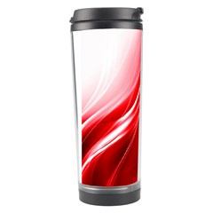 Flame Red Fractal Energy Fiery Travel Tumbler