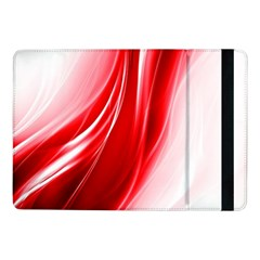 Flame Red Fractal Energy Fiery Samsung Galaxy Tab Pro 10 1  Flip Case
