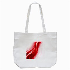Flame Red Fractal Energy Fiery Tote Bag (white)