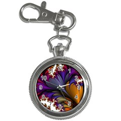 Flora Entwine Fractals Flowers Key Chain Watches