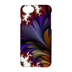 Flora Entwine Fractals Flowers Apple Iphone 7 Hardshell Case
